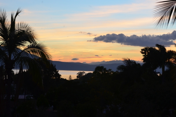 Sunset over Lake Chapala - the view from my office window.