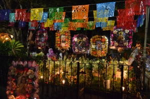 Day of the Dead, midnight, Ajijic. Where I left off writing in November....